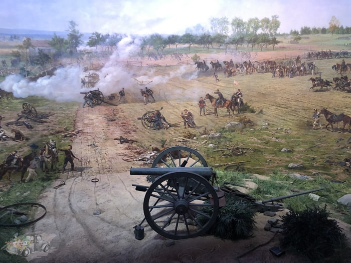 Cyclorama painting at Gettysburg