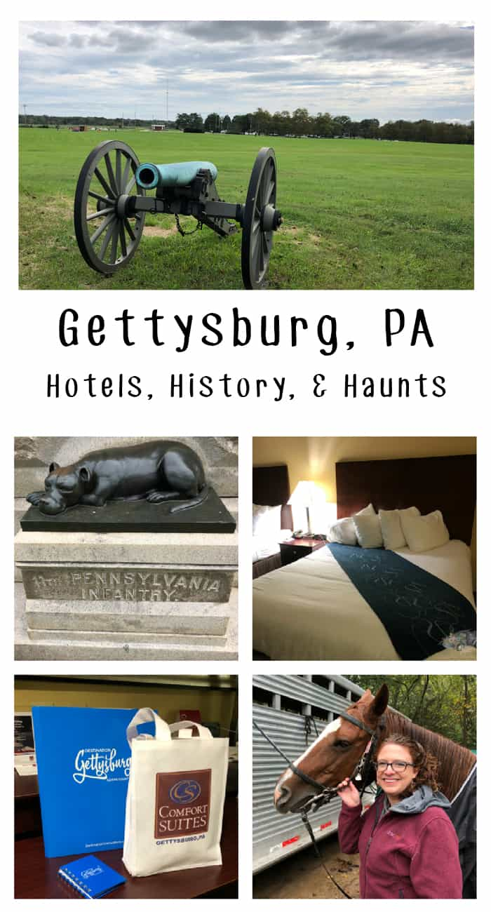 Gettysburg PA: Hotels, Haunts, and History