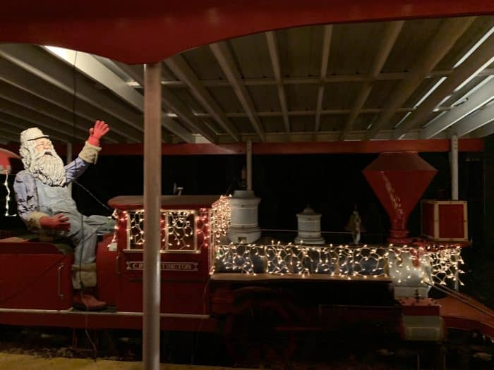 C.P. Huntingdon Christmas Train