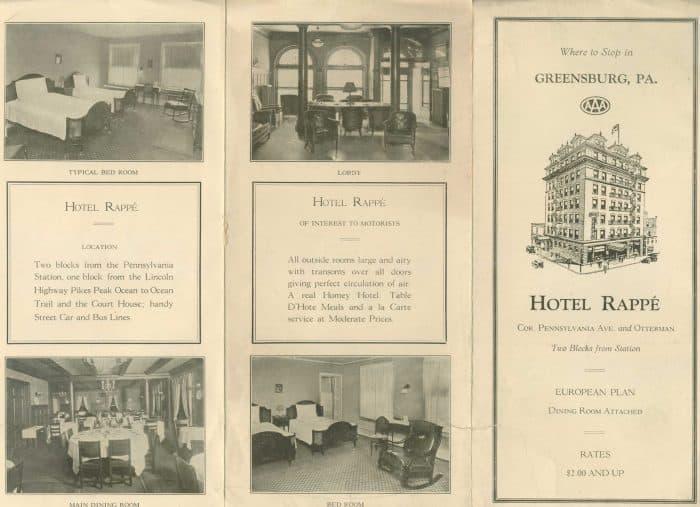 Hotel Rappe Brochure
