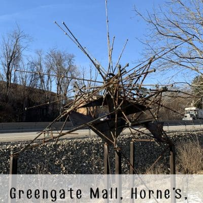 Greengate Mall, Horne's, and the Cantini Sculpture