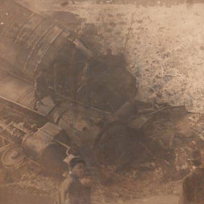 Devil's Bend Train Accident Near Manor, PA
