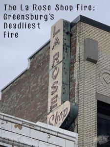 La Rose Shop Building Sign