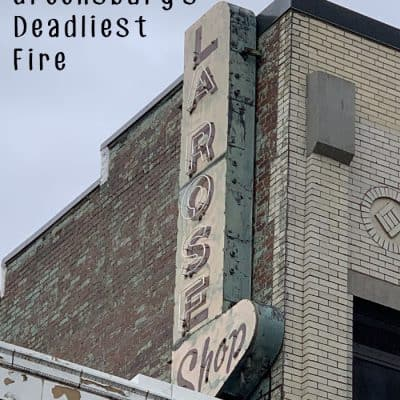 The La Rose Shop Fire: Greensburg's Deadliest Fire