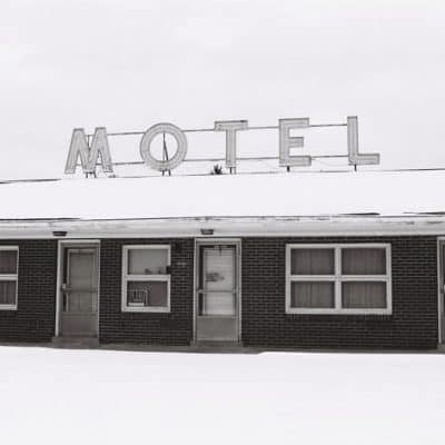 Defunct Shirey's Motel and Motor Court in Ligonier