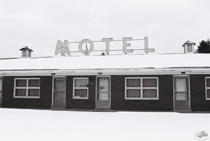 Brick Motel Shirey's Motel