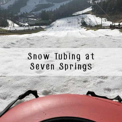 Snow Tubing at Seven Springs: Western PA's Other Winter Pastime