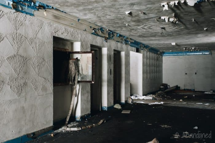 Inside Hallway of Penn-Lincoln Hotel