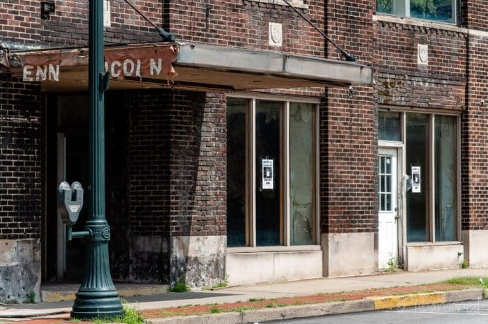 Outside of Penn-Lincoln Hotel