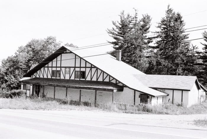 Side View of Swiss Chalet