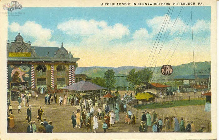 Kennywood Park Trolley Park