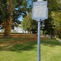 Historical Marker at Tollgate Hill Road