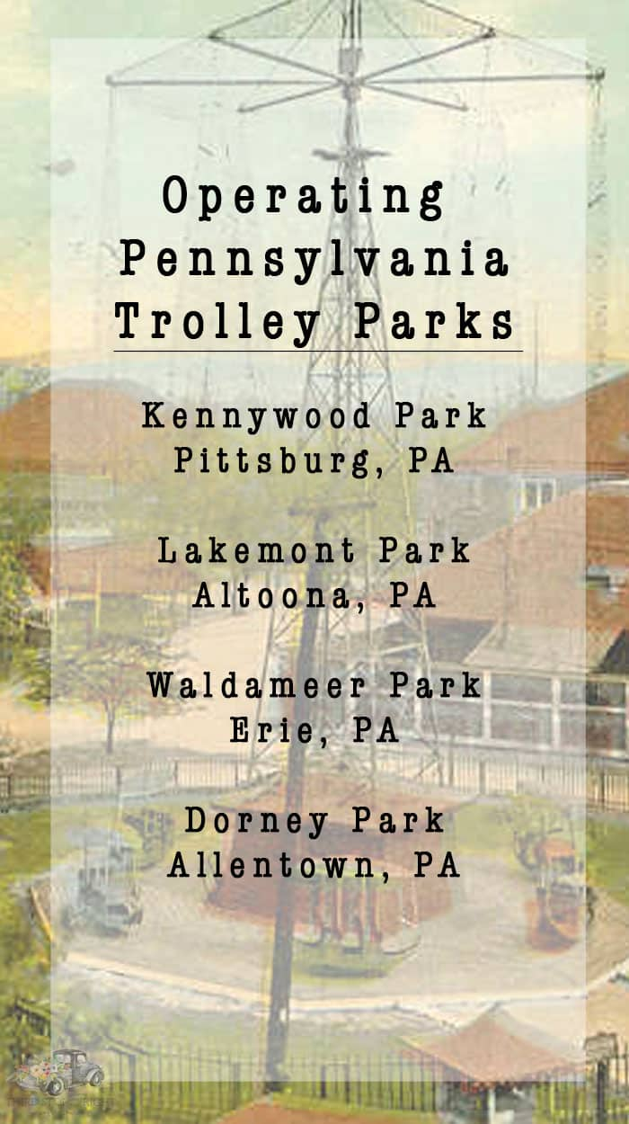 Pennsylvania's Operating Trolley Parks