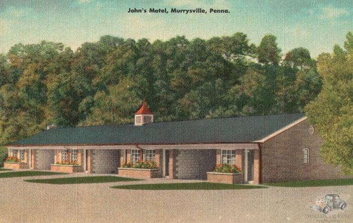 Original John's Motel in Murrysville PA