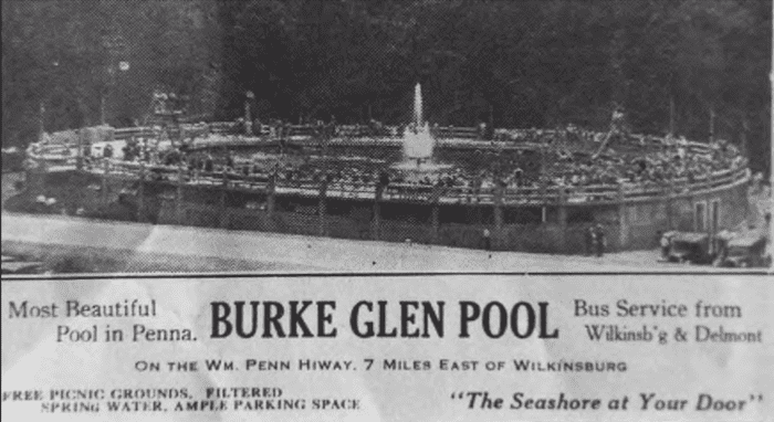 Burke Glen Swimming Pool