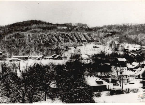 Vintage View of the Murrysville Tree Sign