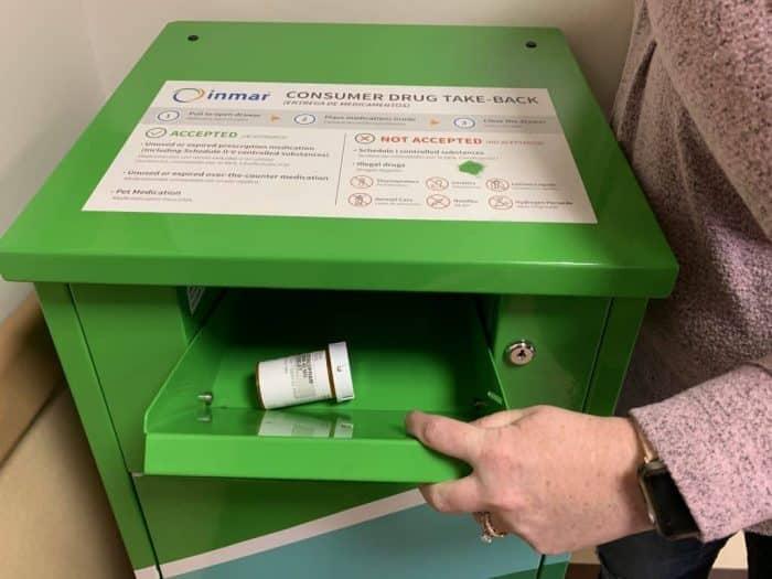 Drug Disposal Receptacle