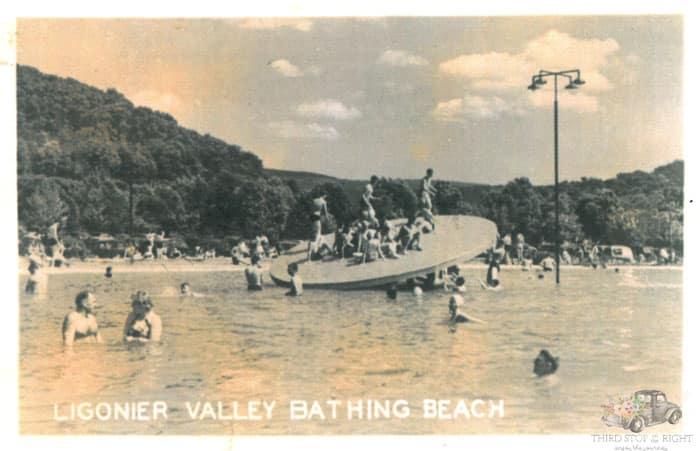 Ligonier Beach Wooden Disk