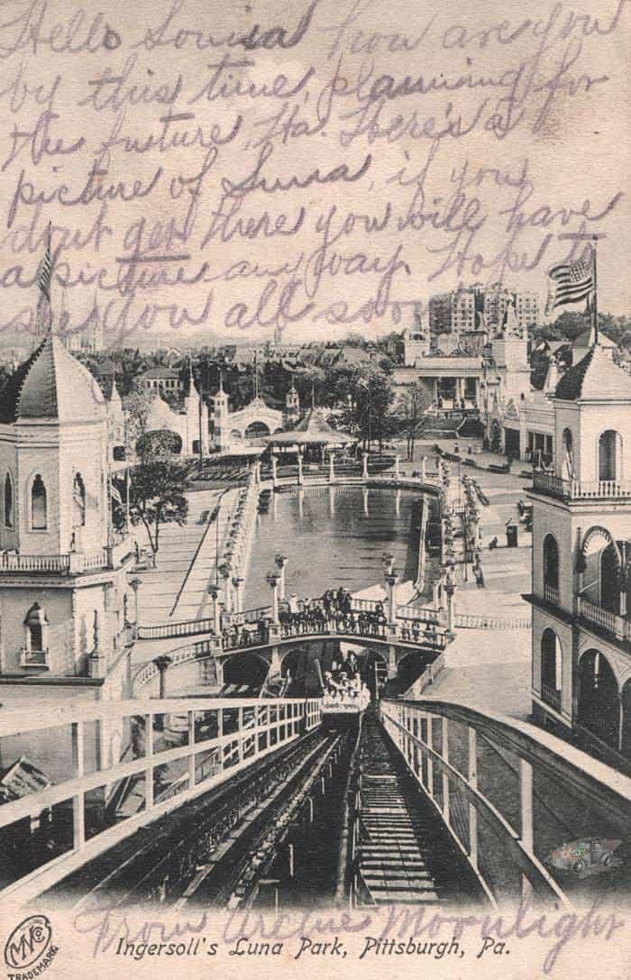 Luna Park amusement park in Pittsburgh