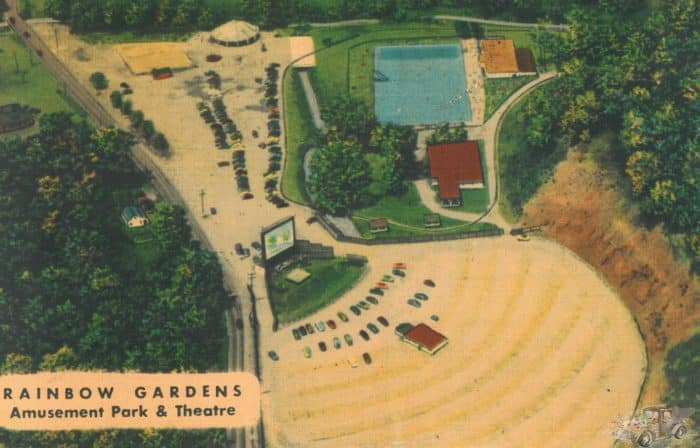Rainbow Gardens amusement park in White Oak