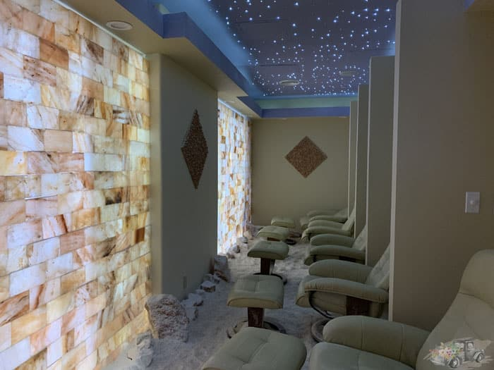 Halotherapy Salt Room