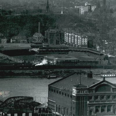 Pittsburgh's First Roller Coaster at the Point