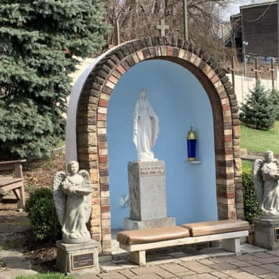 Shrine of the Blessed Mother or Our Lady of the Parkway in Pittsburgh