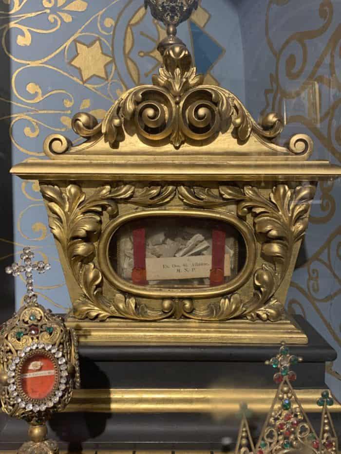Gilded Reliquary