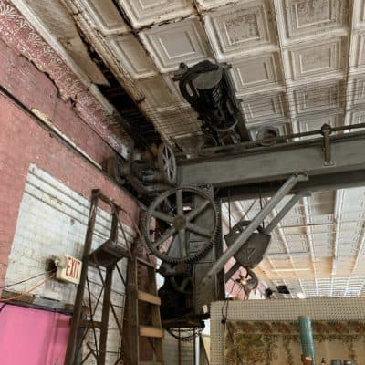 The Hidden Hoist in Greensburg's McColly Building