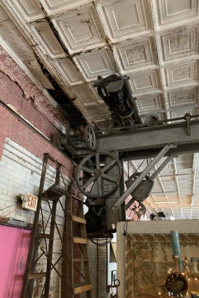 McColly Building Hoist