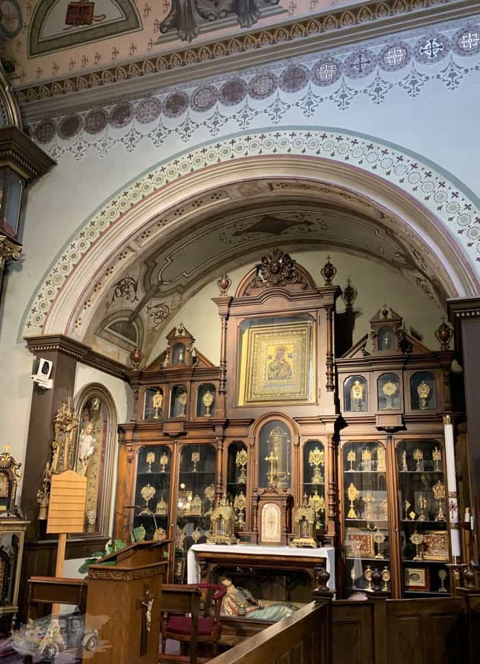 St Anthony Chapel Relics