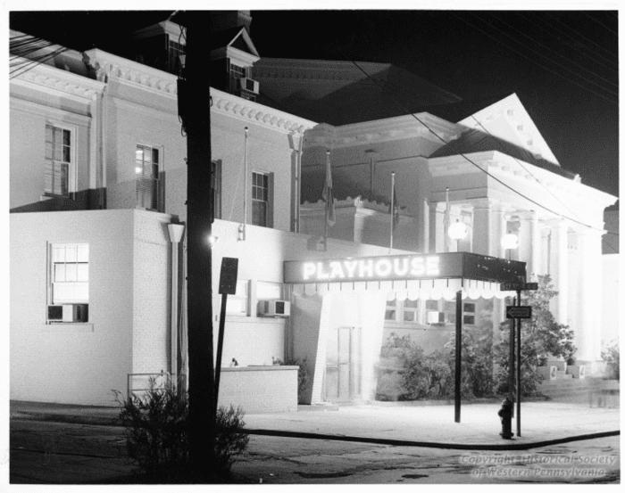 Pittsburgh Playhouse at Night