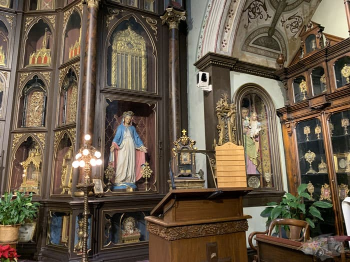 Blessed Mother Relics