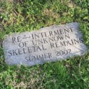 Skeletal Remains Marker