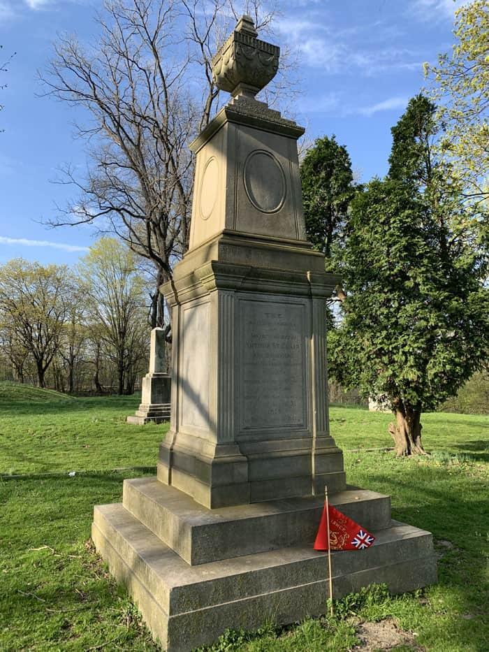 Arthur St. Clair Grave Marker