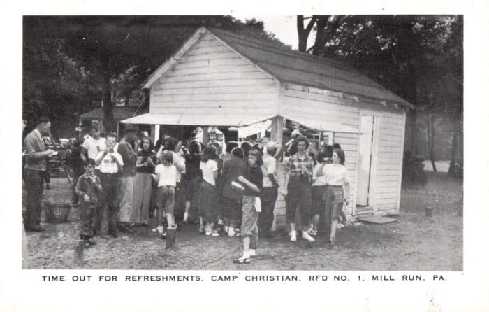 Refreshment Stand Camp Christian
