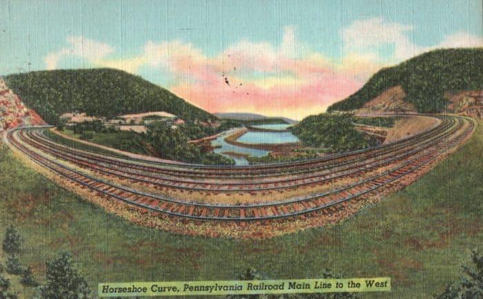 Horseshoe Curve Postcard