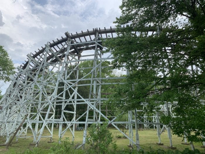 Conneaut Lake Park's Blue Streak