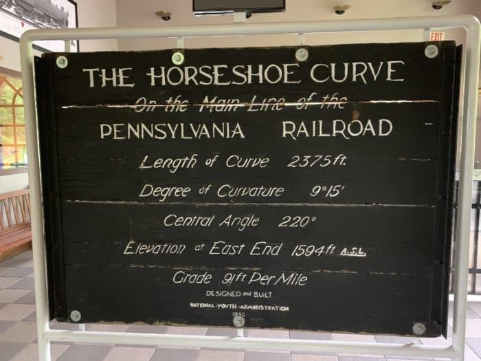 Horseshoe Curve Sign