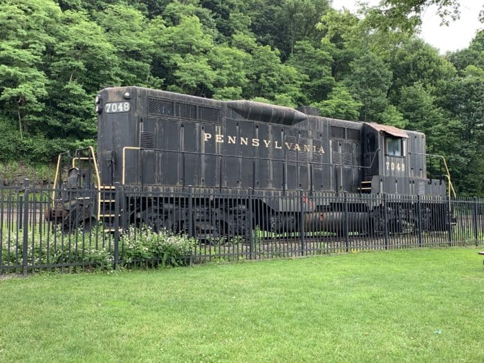 Diesel Engine at Horseshoe Curve