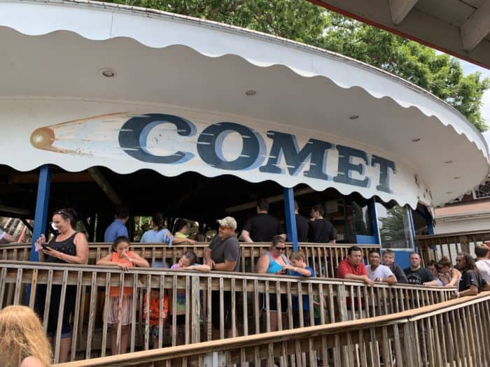 The Comet at Waldameer