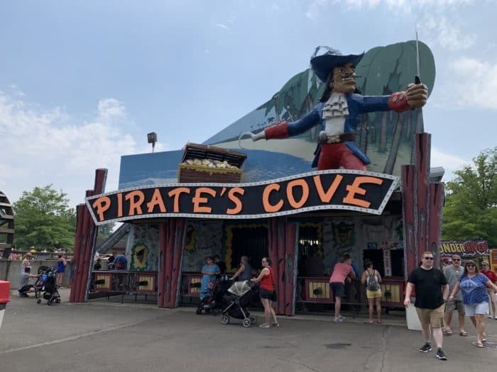 Pirates Cove Dark Ride