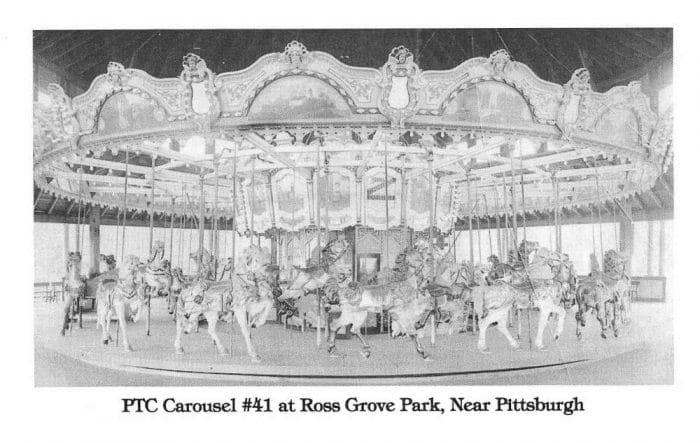 Philadelphia Toboggan Company Carousel at Ross Grove