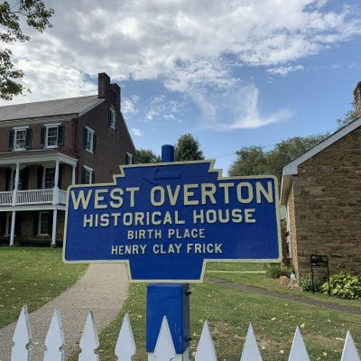 Exploring West Overton Village The Birthplace Of Henry Clay Frick