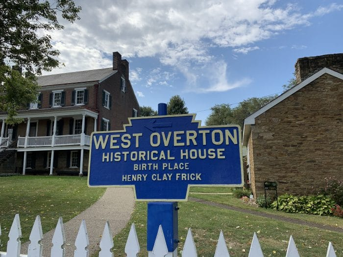 West Overton Village Homestead, Historical Sign, and Springhouse