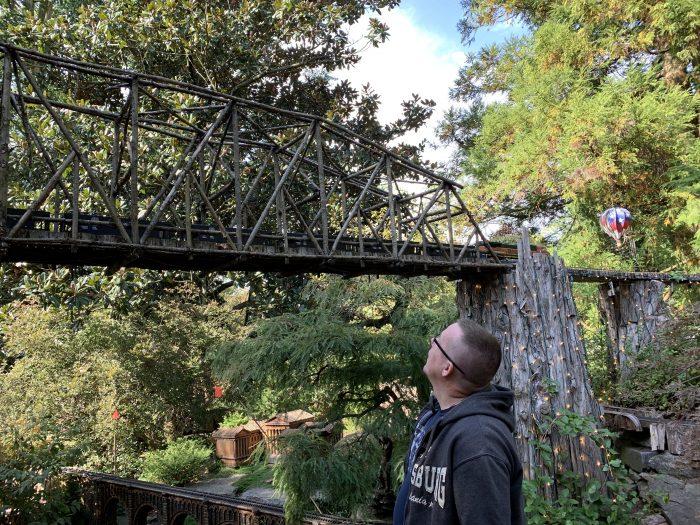 Morris Arboretum Garden Railway Railroad Tressel