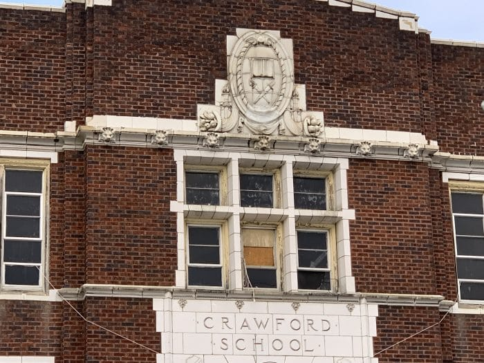 Crawford School during the Day