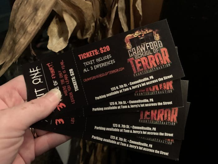 Tickets for Crawford School of Terror