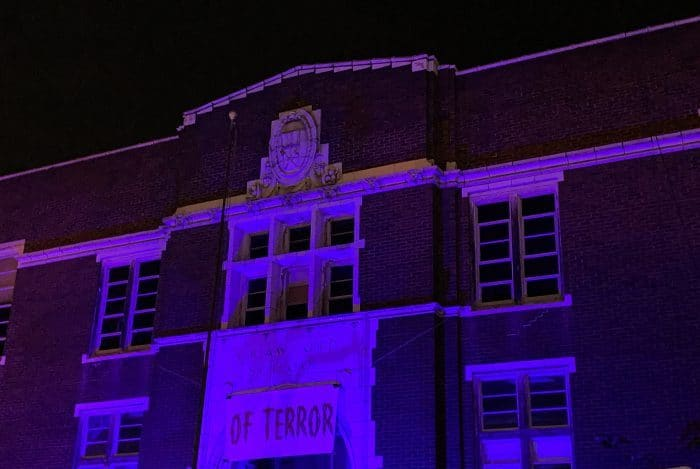 Crawford School of Terror at Night