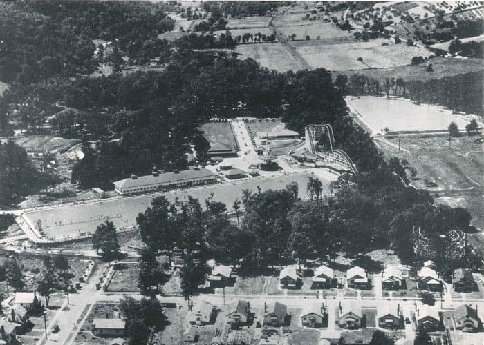 Aerial View of Ivyside Park Penn State Altoona